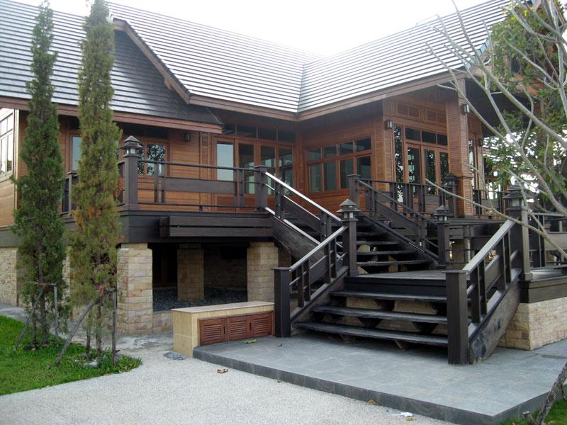 บ้านไม้มะค่า