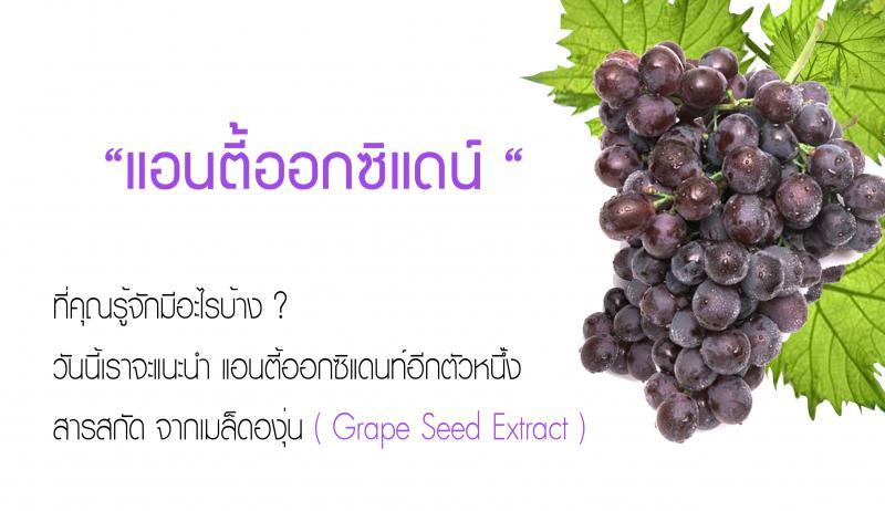 มีอะไรในองุ่น (Grape)