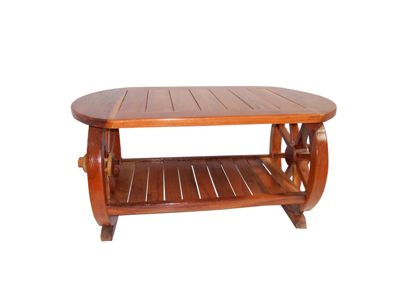 โต๊ะกลางล้อเกวียน