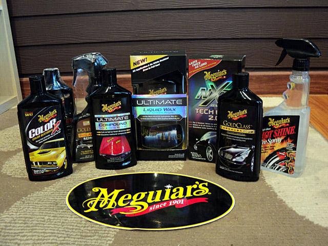 ขาย ผลิตภัณฑ์ meguiars