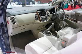 Toyota Innova 2014 Body Inside
