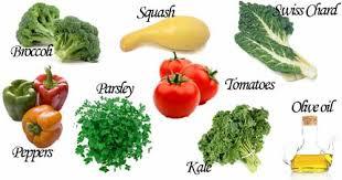โปแตสเซียม (Potassium) ในผักชนิดต่าง ๆ