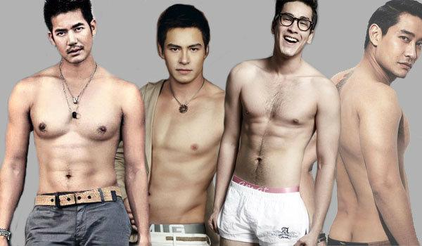six pack ดาราชายไทย 4