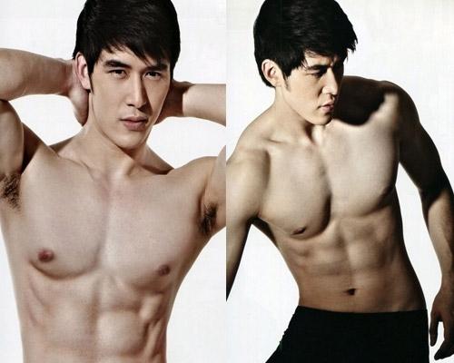 six pack ดาราชายไทย 6