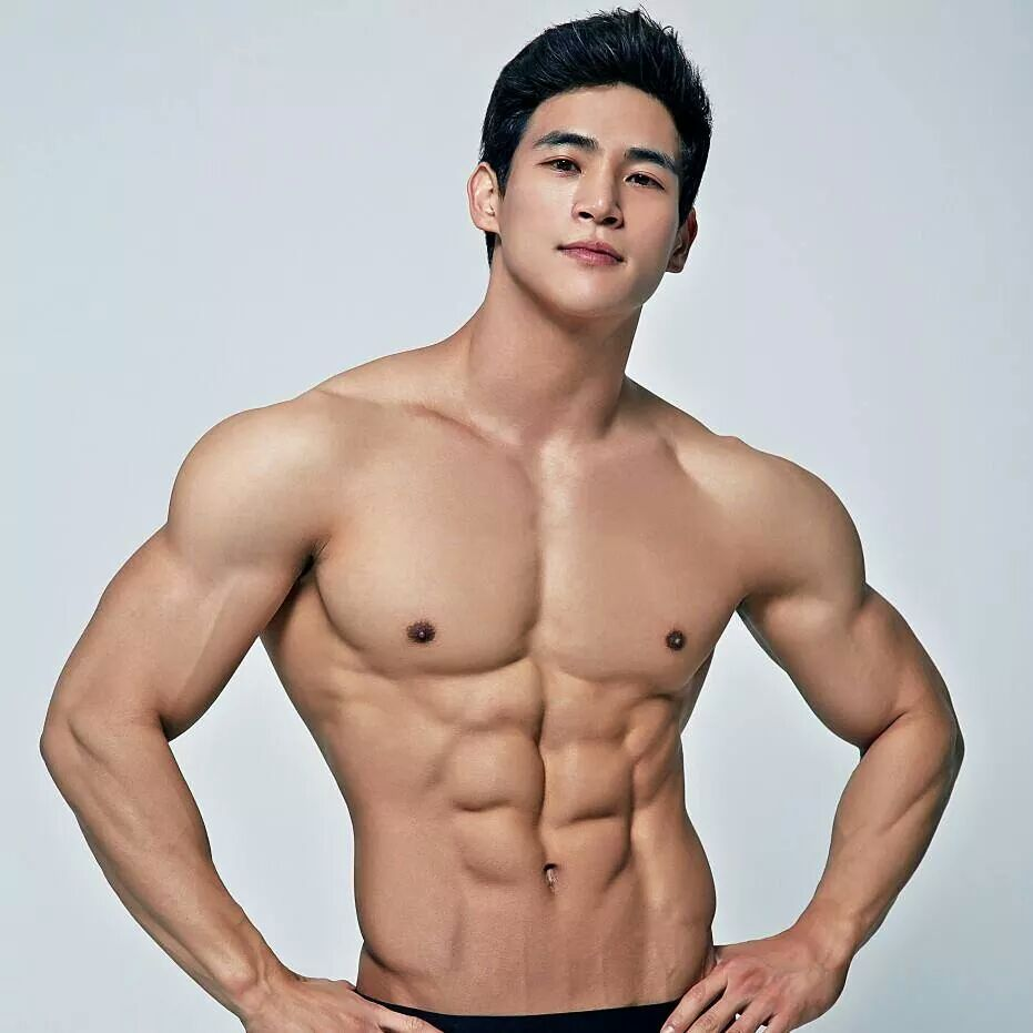 Hot Asian Guy Six Pack 4