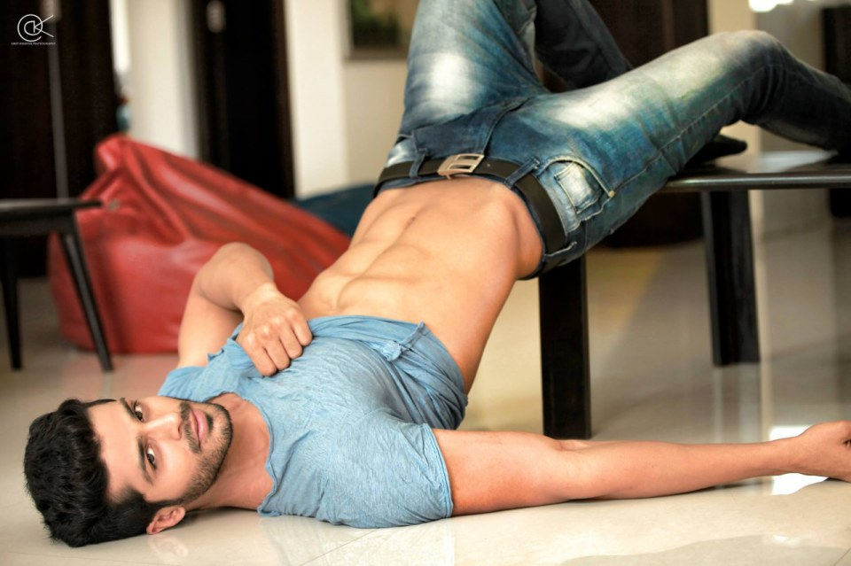 Hot Indian Men Model 10