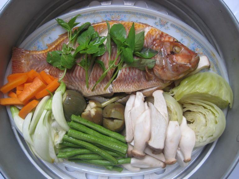 Thai Stremed Fish