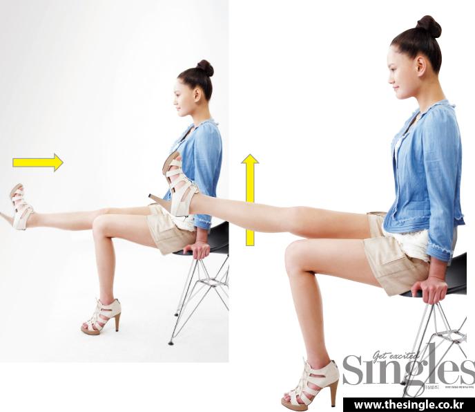 วิธีลดต้นขาและน่อง 1