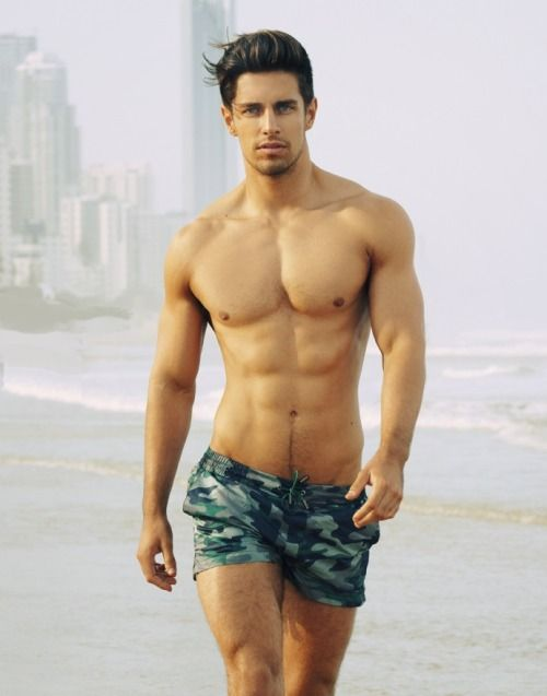 Sexy Guy Abs 2