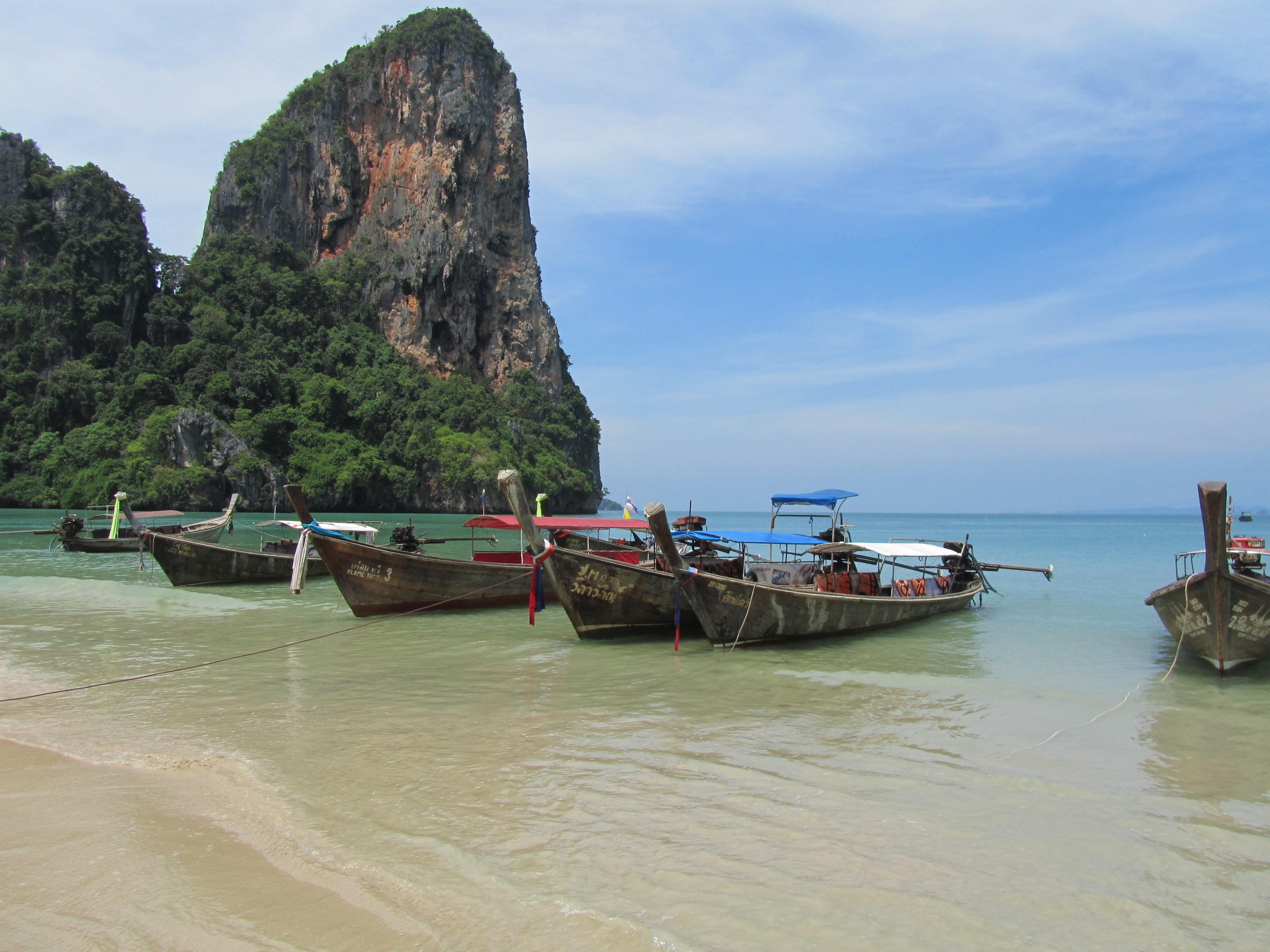 Railey Beach, Krabi
