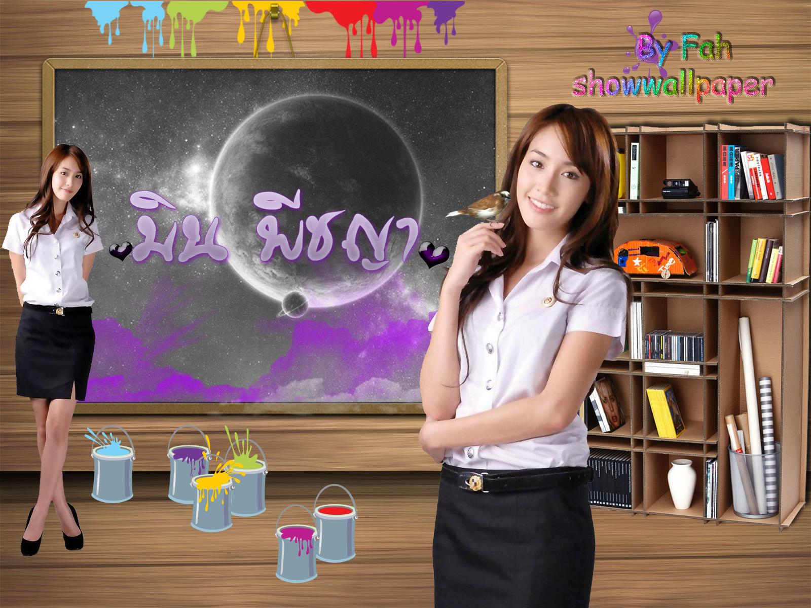 Wallpaper มิน พีชญา3
