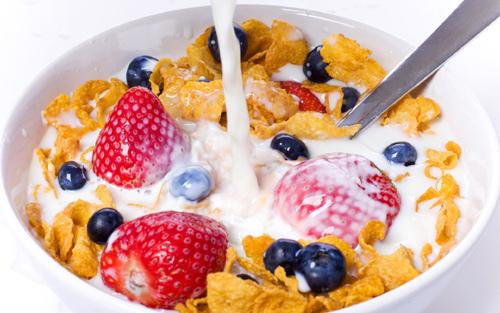 ซีเรียล อาหารเช้า