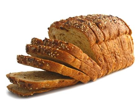 ขนมปังโฮลวีต 2 แผ่น ทาน้ำผึ้ง