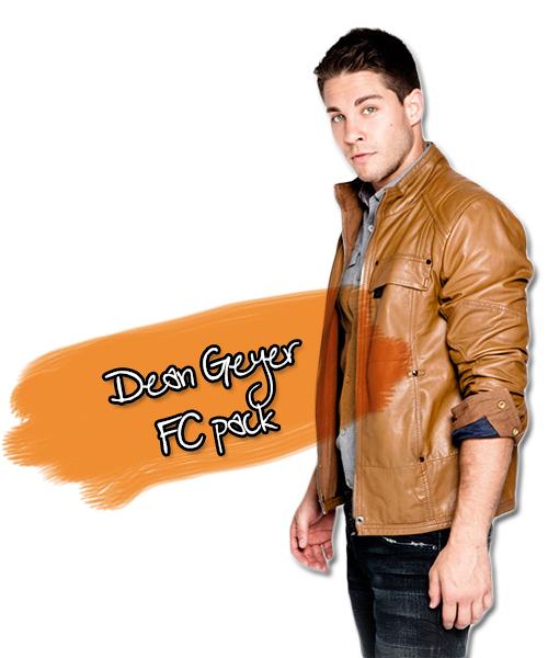 Glee's Dean Geyer