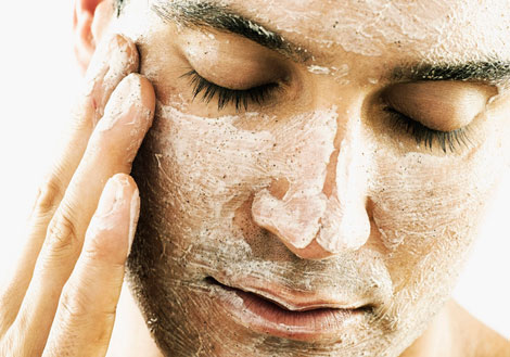 men scrub care and living