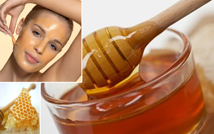 honey facial mark