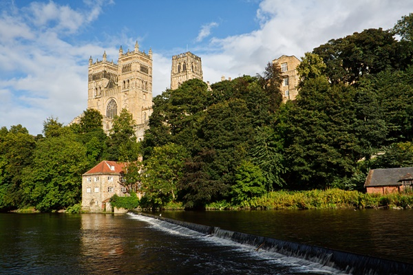 The Cathedral Church of Christ, Blessed Mary the Virgin and St Cuthbert of Durham or Durham Cathedral for short.