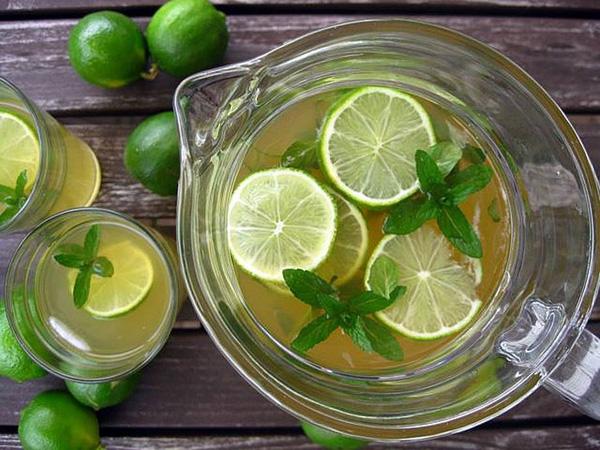 how to make lemon juice วิธีทำน้ำมะนาว1
