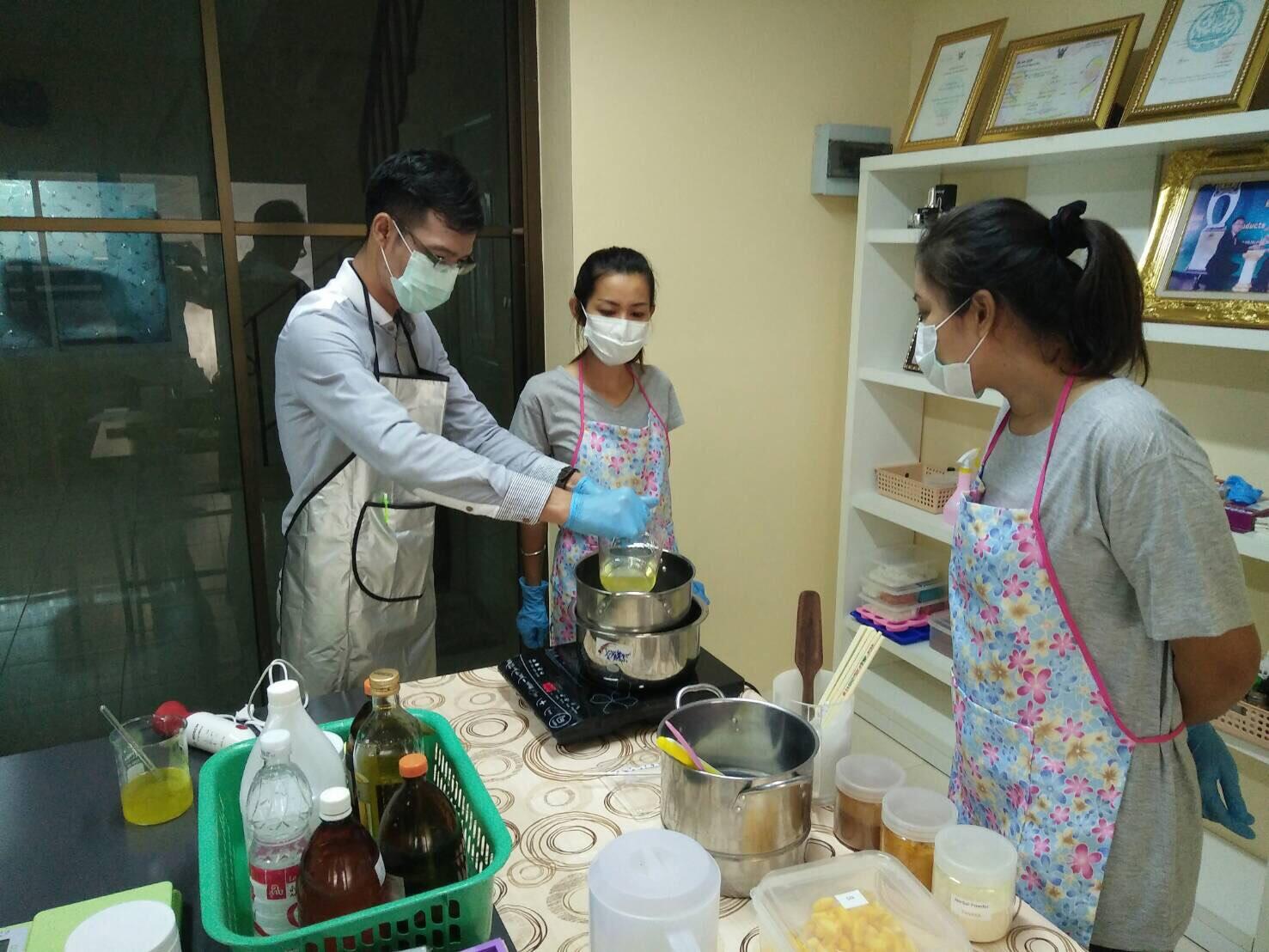soap maker วิธีทำสบู่ สอนทำสบู่4
