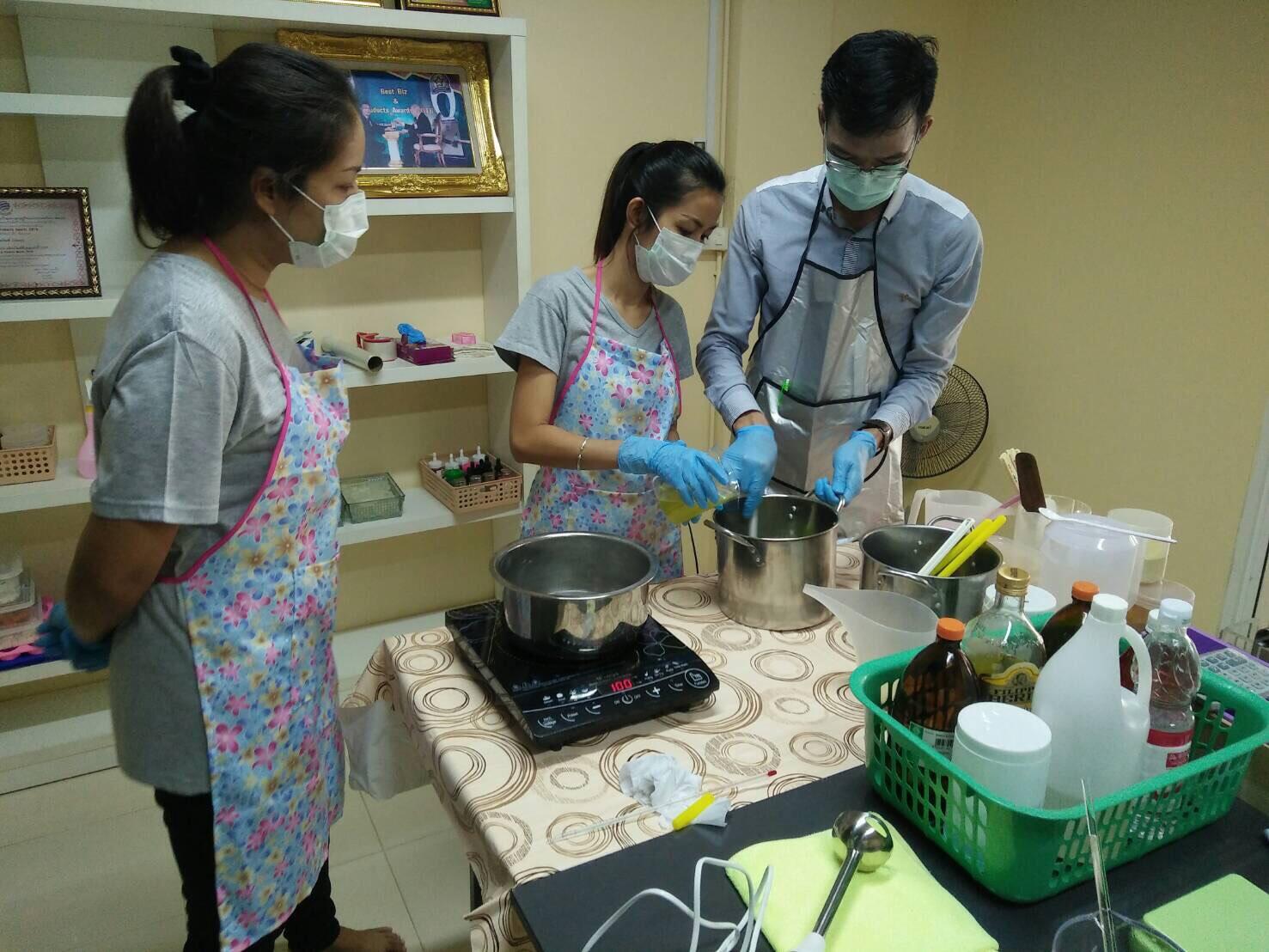 soap maker วิธีทำสบู่ สอนทำสบู่5