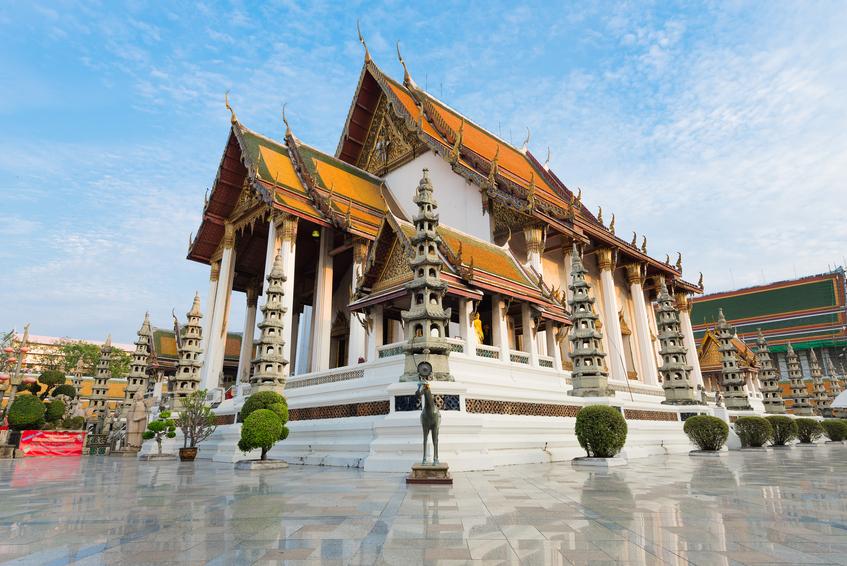 Wat Suthat Thepwararam (Temple), Bangkok, Thailand: Historical, Public place and Landmark