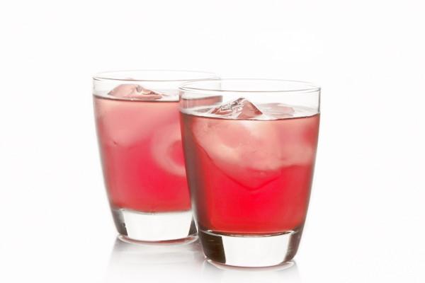 Roselle juice,Thai herbal soft drink for good healty