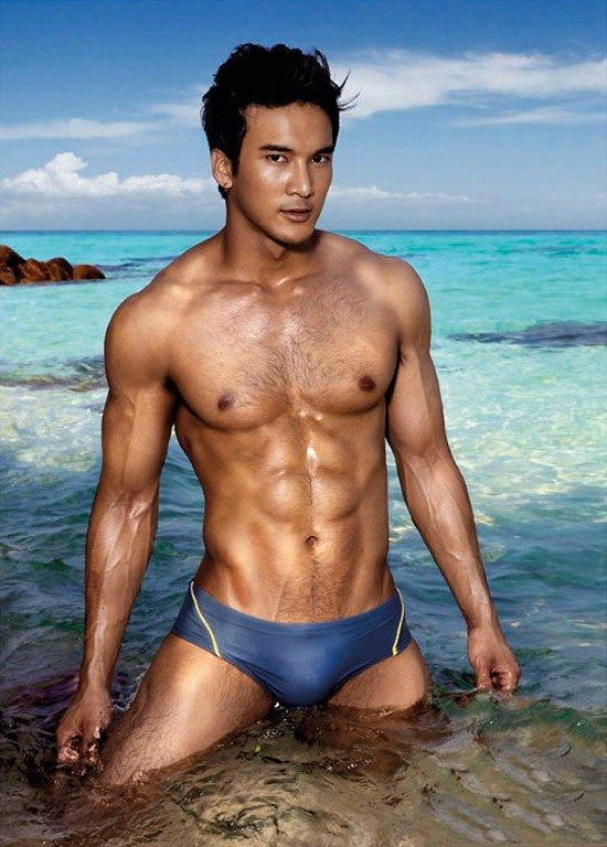 Indonesian man naked model 15